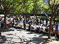 Sproul Plaza during Cal Day 2009 5.JPG
