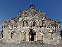 St-Aulaye 24 Église façade 2013.jpg
