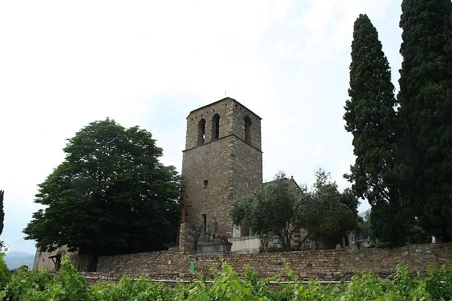Saint-Julien (Hérault) - Vue générale du prieuré.