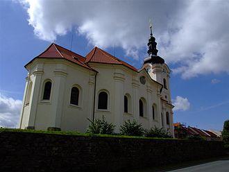 Černošín - Saint George Church