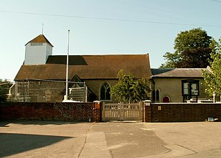 Little Clacton Village in Essex, England