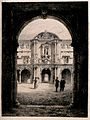 St. John's College, Oxford; gateway leading to the quadrangl Wellcome V0014167.jpg