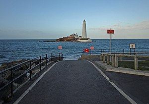 Whitley Bay - Image: St. Mary's Island geograph.org.uk 1205559