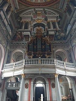 St. Mauritius Wiesentheid Orgel.jpg