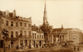 St. Paul's Chapel and Astor House hotel, Broadway, New York City, c. 1843.png