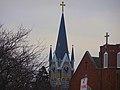 St. Paul's Lutheran Church Steeple - panoramio (1).jpg
