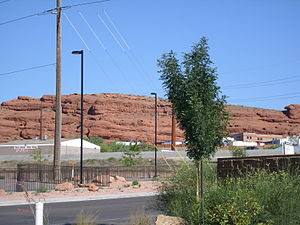 St. George, Utah - The red hills of the Red Cliffs Desert Reserve north of St. George.