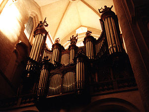 Basilica of Saint-Sernin, Toulouse - The grand 1888 Cavaillé-Coll organ