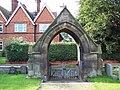 St Andrew's Church, East Heslerton - Lych Gate - geograph.org.uk - 508243.jpg