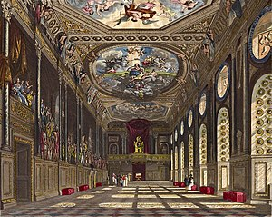 Hugh May - St George's Hall, Windsor Castle, in 1819
