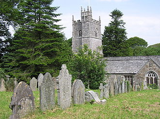 St Martin-by-Looe - The church of St Martin-by-Looe