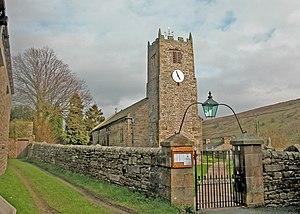 Muker - St. Mary's church dates from around 1680.