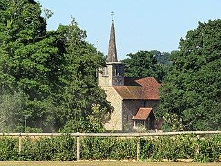 Little Hallingbury village in United Kingdom