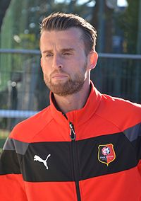 Stade rennais vs USM Alger, July 16th 2016 - Ermir Lenjani 1.jpg