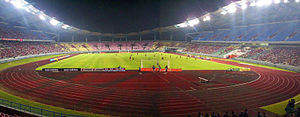2016 Malaysian Paralympiad - Sarawak Stadium, venue of the athletics event for the 18th Malaysia Para Games.