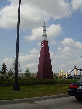 Stafford, Texas - Monument on US 90 Alternate