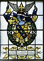 Stained glass - John Tradescant coat of arms.jpg