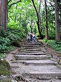 Stairs up to the Togakushi shrine.jpg