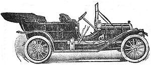 Standard Six - Standard Six Touring Car
