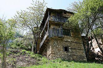 Jablanica, Struga - Image: Stara kuka vo Jablanica Struga 3