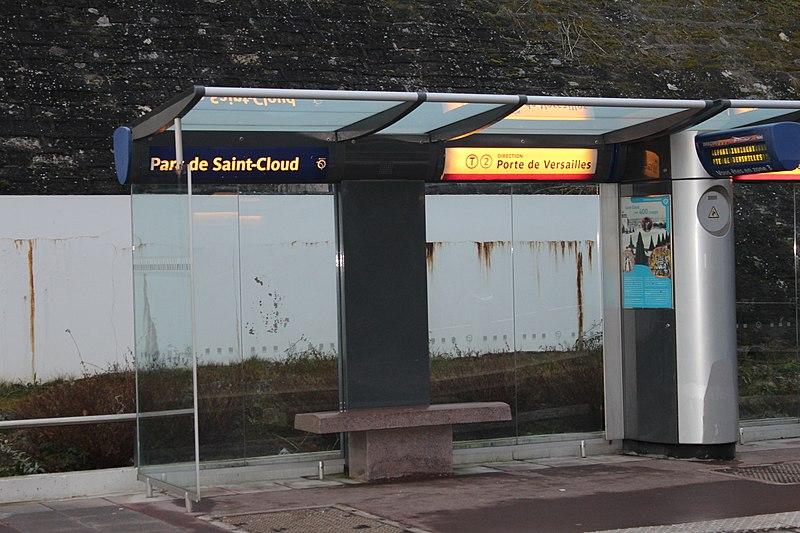 File:Station Tramway Ligne 2 Parc St Cloud 9.jpg