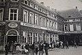 Stationsplein, Zottegem (historische prentbriefkaart) 01.jpg