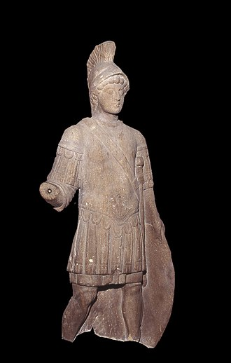 Eboracum - Statue of Mars from Blossom Street in York