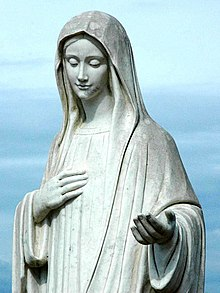 Statue of Our Lady of Medjugorje (cropped).jpg