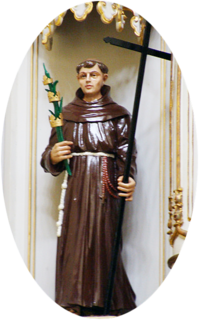 Gonsalo Garcia Friar Minor, martyr and saint