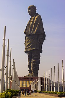 Worlds Largest Statue Of Woman With >> Statue Of Unity Wikipedia