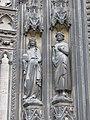Statues retour gauche façade occidentale Saint-Ouen Rouen 2.JPG