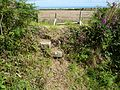 Steps over the wall on field path to campsite. - panoramio.jpg