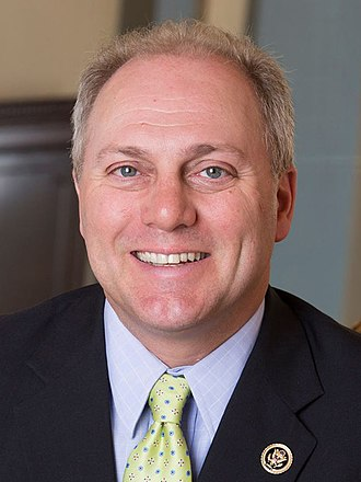 Party leaders of the United States House of Representatives - Majority Whip Steve Scalise (R)