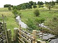Stile and stream - geograph.org.uk - 534497.jpg