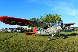 Stinson L-1 Vigilant - 1941 L-1, Reserve Grand Champion, AirVenture 2016