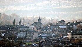 Stirling vista desde Abbey Craig