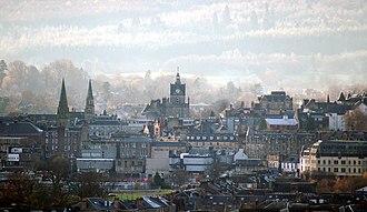 Stirling - Image: Stirling(Donald Mac Donald)Dec 2005