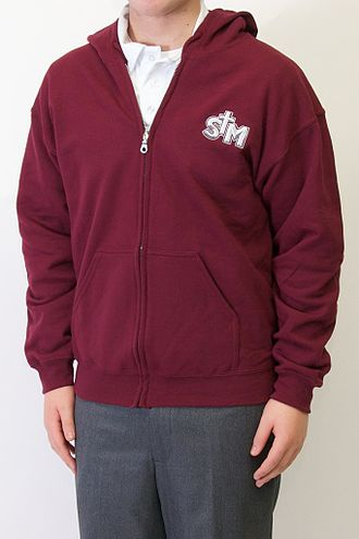 Saint Michael Catholic High School (Niagara Falls, Ontario) - A common style of uniform worn by students