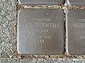 Stolperstein Karl Eugen Falk, 1, Ostenallee 31, Mitte, Hamm.jpg