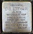 Stolperstein Kleve Hagsche Straße 9-11 Emil Leffmann.jpg