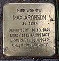 Stolperstein Pariser Str 49 (Wilmd) Max Aronson.jpg