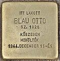 Stolperstein für Otto Blau (Budapest).jpg