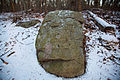 Stone that looks like a face, Concord, Mass 2012-0133.jpg