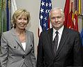Strøm-Erichsen and Gates at the Pentagon.JPG