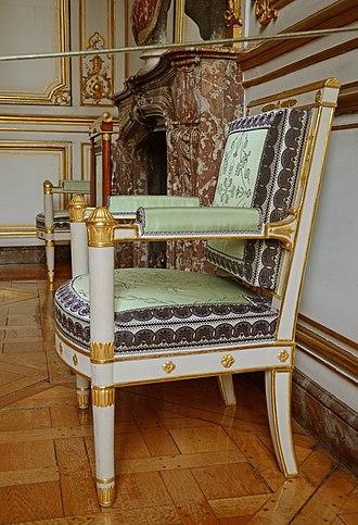 Cabriolet (furniture) - Image: Strassburg 5918