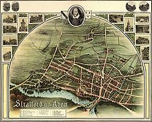 Historic Map Of Stratford In 1902