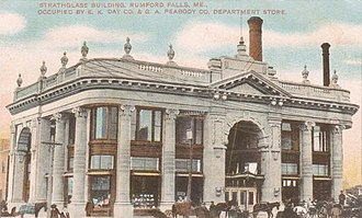 Rumford, Maine - Image: Strathglass Building