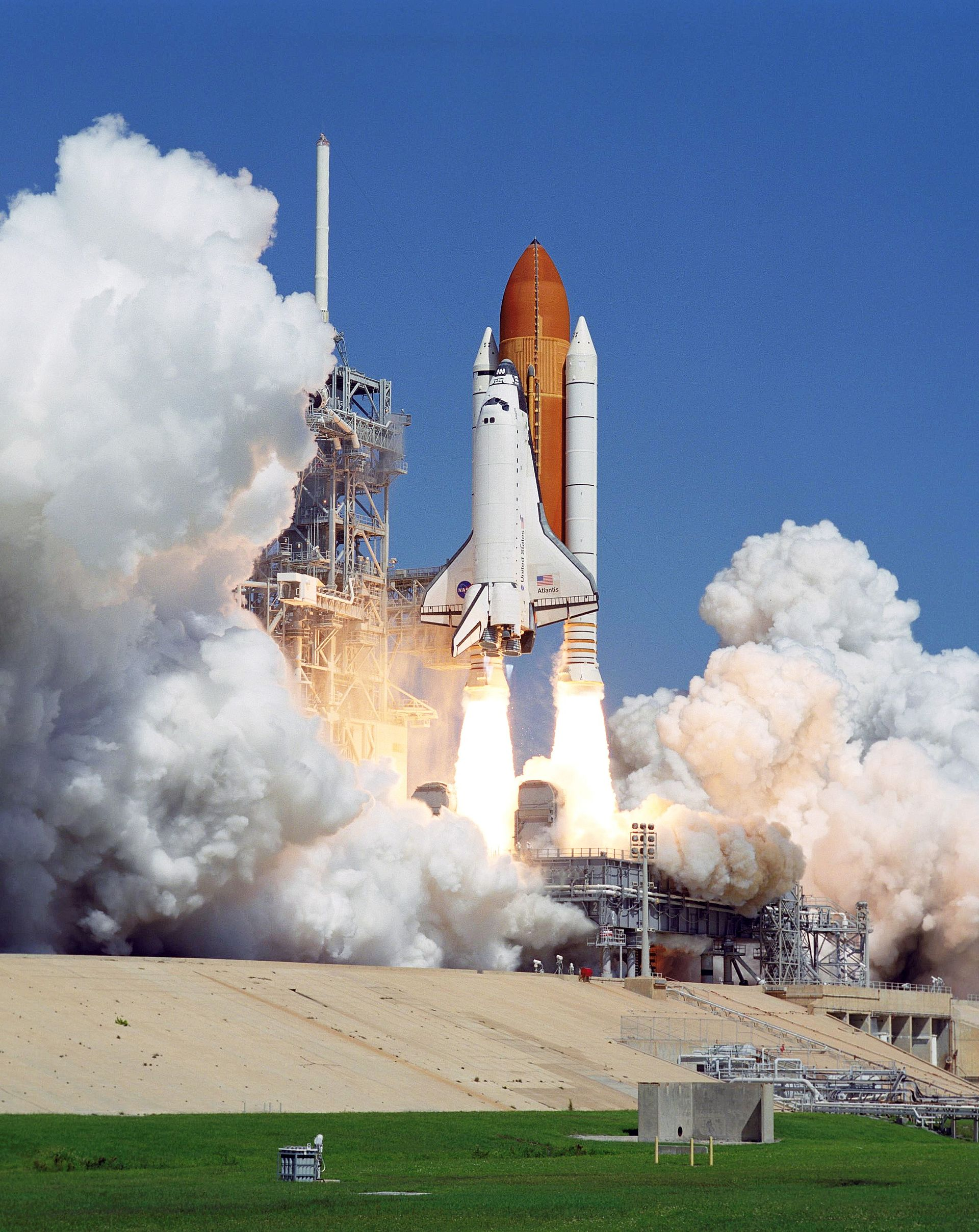 space shuttle erster start -#main