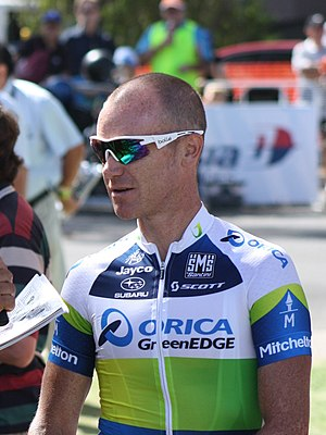 2013 Tour Down Under - Image: Stuart O Grady, 2013 Tour Down Under (cropped)