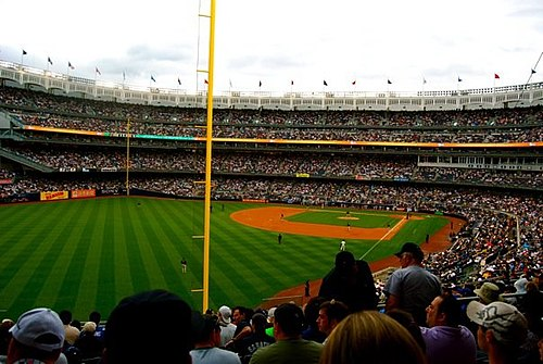 A full house at the new Yankee Stadium for a Subway Series game against the Mets on June 13, 2009. The Mets won the game 6-2. Subway Series 2009.jpg